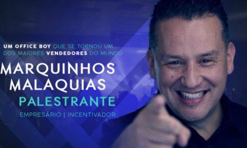 Alan Cimerman fecha parceria com palestrante Marcos Malaquias