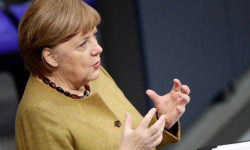 Merkel: lockdown não vai durar 'nem um dia a mais do que o necessário'